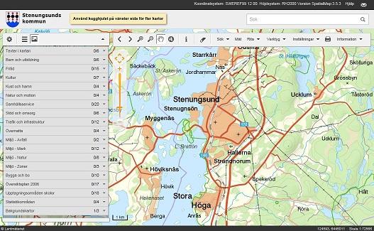 stenungsund karta Kartor   Stenungsunds kommun stenungsund karta